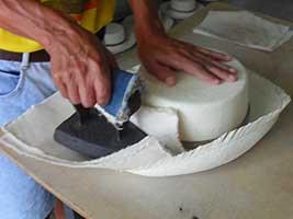 Ironing Panama Hat