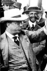 Theodor Roosevelt weating Panama Hat